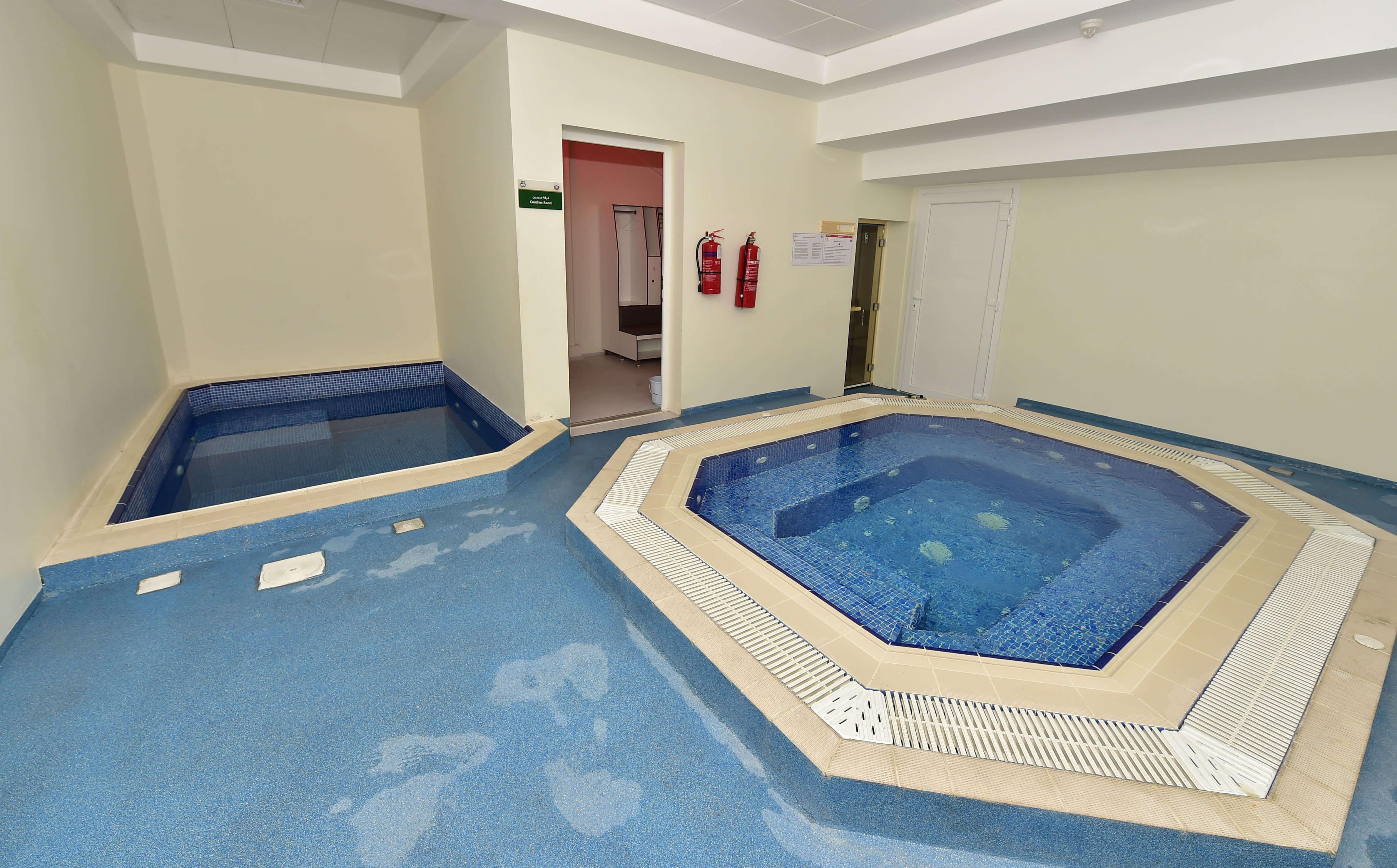 Al Ahli Sports Club Indoor Pool Al Balagh Al Balagh Trading Contracting